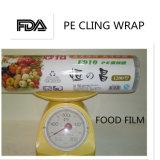 Il tipo poco costoso alimento del rullo molle di alta qualità del PE aderisce pellicola