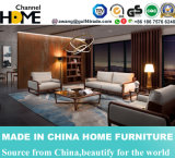 2017 sofa en cuir de la noix 1+2+3 américains neufs d'arrivée pour la Chambre (HC6603)