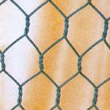 Malha de arame hexagonal revestida de PVC para uso agrícola