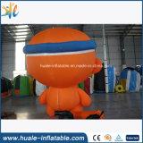 Hor venta inflable mono lindo, mono de dibujos animados inflables para Adversiting