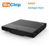 SpitzenkastenKm8p Amlogic S912 Android 6.0 Ott Fernsehapparat-Kasten einstellen