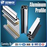 Perfil do alumínio do revestimento 6063-T5 do pó da isolação térmica de padrão de ISO