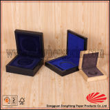 Reloj laqueado único de encargo exclusivo que empaqueta el rectángulo de madera