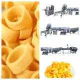 Extrudeuse directe de plat de bâton de boucle de pomme de terre et faire frire la chaîne de fabrication