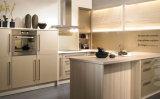 Gabinetes de cozinha elevados do lustro da melhor fábrica do sentido
