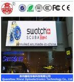 P6 módulo publicitario a todo color al aire libre de la pantalla del alto brillo LED
