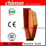 Porte en bois solide en bois de fantaisie de porte