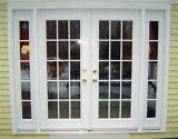 La plus défunte porte-fenêtre en aluminium en verre Tempered de double de modèle de Woodwin