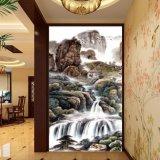 玄関の装飾のための落下デジタルによって印刷される中国の油絵