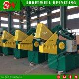 Esquileo hidráulico del cocodrilo del metal de Shredwell para el acero/el aluminio/el hierro/el cobre del desecho