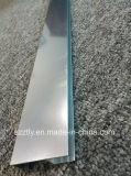 Espulsione di alluminio anodizzata lucidata e luminosa della lega 6000