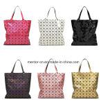 Handbag良質の最もよい価格の格子縞の方法PUの革女性