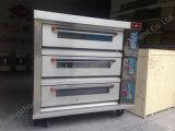Печь пиццы роскошной палубы хлебопекарни конструкции 2017 электрическая с Ce