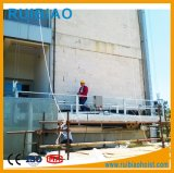 Plataforma suspendida construção da parede do berço da série de Zlp