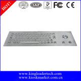 Vandalen-Beweis-Tastatur mit schroffer Rollkugel