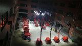 LEDのKubotaの発電機が付いている移動式照明タワー