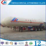 Трейлер топливозаправщика качества 60cbm LPG ASME для сбывания