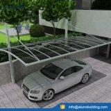 Parking en aluminium simple moderne de polycarbonate pour 1 véhicule