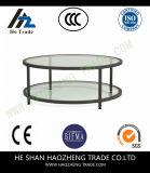 Hzct016 Grahmのコーヒーテーブルは家具に金属をかぶせる