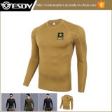 Biancheria intima termica all'ingrosso degli uomini esterni di inverno di Esdy, maglietta termica