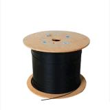 2 o cabo pendente ao ar livre do núcleo FTTH com fio de aço reforça