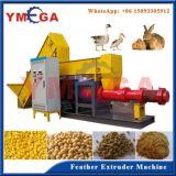 Hohe Produktions-automatische Geflügel-Huhn-Feder-Verdrängung-Maschine für das Tierfutter-Aufbereiten
