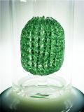 Nueva 14mm piña verde azul pipas de vidrio con el varón Cuenco