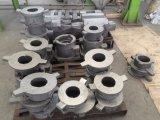 Moulage au sable dans des pièces de bâti d'acier inoxydable de matériel métallurgique