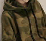 고품질 Hoodie가 긴 소매 위장 두건이 있는 스웨트 셔츠에 의하여, 스웨터