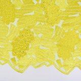 Tessuto francese africano del merletto della pesca all'ingrosso