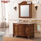 Gabinete de banheiro de madeira antigo do Rosewood/Teak (GSP14-004)