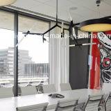 Leuchter-Wohnzimmer-hängende Lampe des Italien-Art Metal&Glass Gefäß-G9 LED hängende