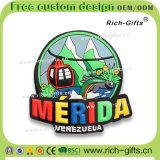 صنع وفقا لطلب الزّبون زخرفة ترويجيّة هبات [بفك] براد مغنطيسات تذكار فنزويلا ([رك-ف])