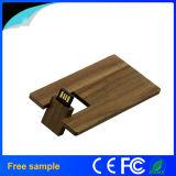 Movimentação de madeira de bambu 8GB do flash do USB do cartão de 2016 vendas por atacado