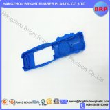 Hohe Präzisions-blauer Schild-Plastikdeckel angepasst