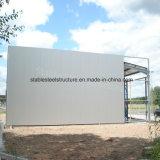 Gruppo di lavoro prefabbricato della struttura d'acciaio di Glavanized di alta qualità in Nigeria