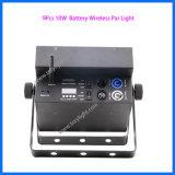 Bateria sem fio Parcan do PCS da luz 9 do disco do diodo emissor de luz