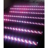 段階のディスコの照明のための320PCS RGBW LEDの壁の洗濯機棒