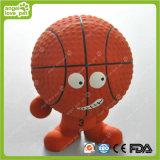 Het Piepende Product van het Huisdier van het Speelgoed van het Honkbal en van het Basketbal van het latex