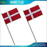 Indicateur en bois de main du Danemark de coton (B-NF10F02009)
