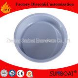 Bandeja redonda del esmalte/bandeja del alimento/utensilios de cocina/vajilla de Sunboat
