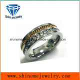 De Steen CZ van de Juwelen van het roestvrij staal met de Ring van de Vinger van de Ketting