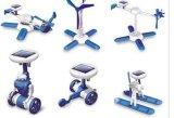 DIY 6 в 1 по-разному модельной игрушке ребенка робота солнечной силы