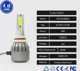 Linterna de la luz H7 LED del coche de la alta calidad 36W C6