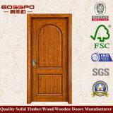 Просто конструкция двери твердой древесины спальни (GSP2-053)