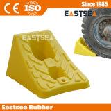 車のための安いプラスチック二重黄色い車輪停止くさび
