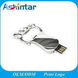 Clé de mémoire USB imperméable à l'eau de disque de flash USB de patte de dessin animé mini