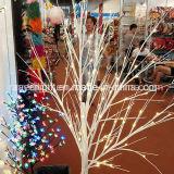 Decorações artificiais da luz da árvore da iluminação do diodo emissor de luz da flor de cereja