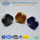 Het aangepaste Profiel van het Aluminium voor Heatsink met het Anodiseren en het Machinaal bewerken