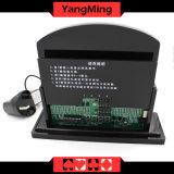 주문을 받아서 만들어진 작풍 큰잔 LED 전자 테이블 Limitcasino 테이블 내기 한계 표시 카드 Ym-LC07